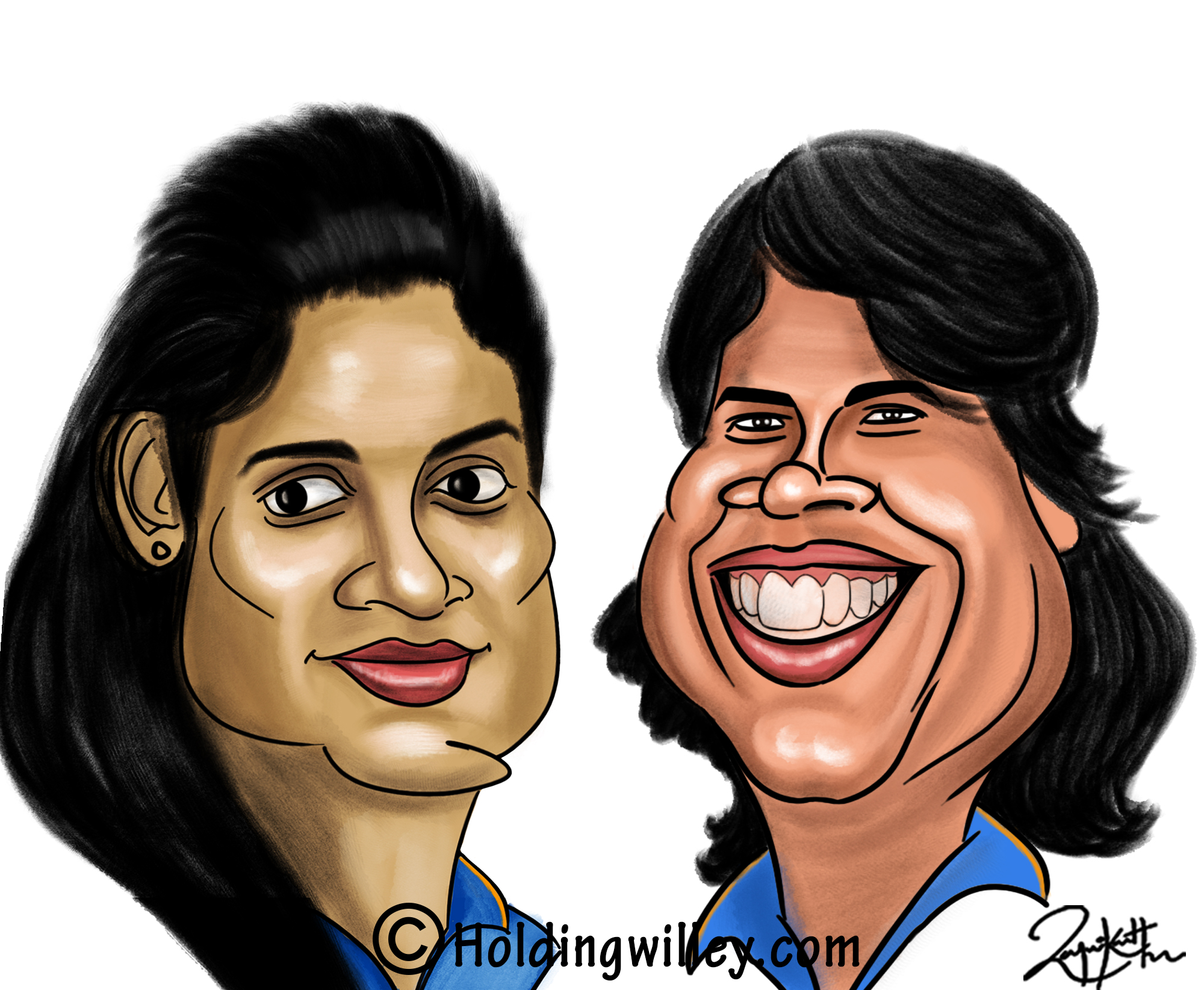 Mithali_Raj_Jhulan_Goswami_India_Women's_Cricket