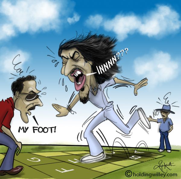 Ishant Sharma No Balls Cartoon