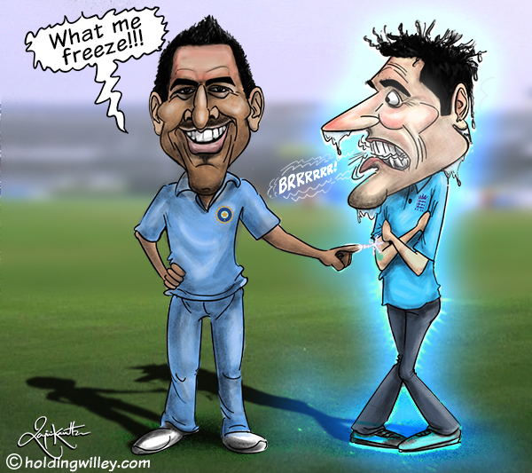 MS Dhoni Mr Freeze